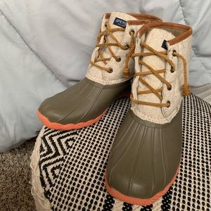 Sperry Waterproof Cold Weather Winter Duck Boots